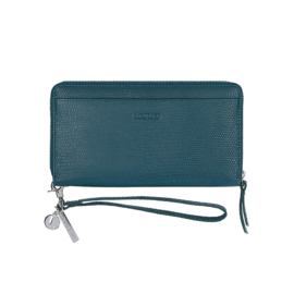 By Lou Lou, SLB S 107S 057, Smart Little Bag, lovely Lizzard, Petrol Blue