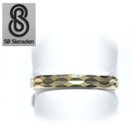 14krt gouden ring - Fantasie model