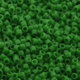 Miyuki Delica's DB0724 Opaque Pea Green