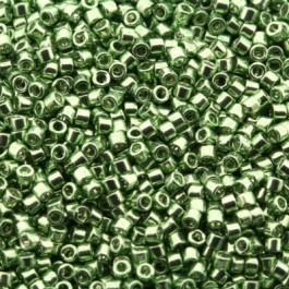 Miyuki Delica's DB0413 Galvanized light Green Dyed