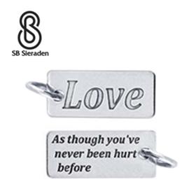LOVE bedel - 925 Zilver
