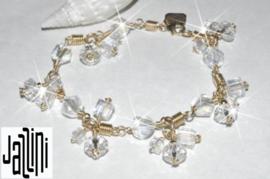 Goldfilled   Armband  - met kristallen