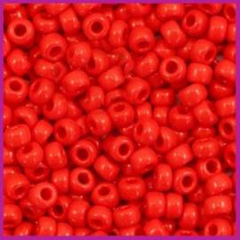 Miyuki Rocailles 8/0 Opaque red  0408