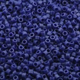 Miyuki Delica's DB0361 - Matte Opaque Cobalt Blue Luster