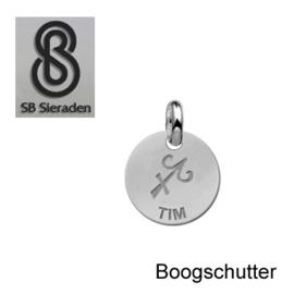 BEDEL-Sterrenbeeld- ECHT Zilver 925