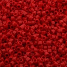 Miyuki Delica's DB0723 Opaque Red