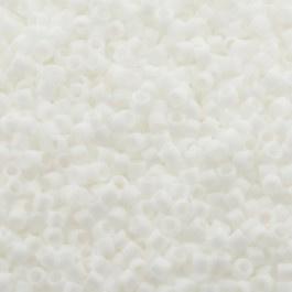 Miyuki Delica's DB0351 White Matted AB