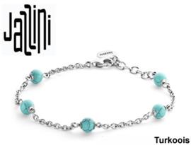 Jazzini Armband  - Zilver 925 met Edelsteen