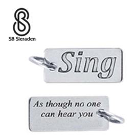 SING bedel - 925 Zilver