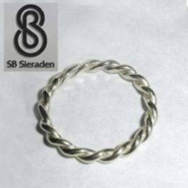 Torsdraad / koord ring 3mm dikte