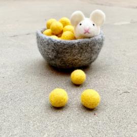 Speelmuis wit