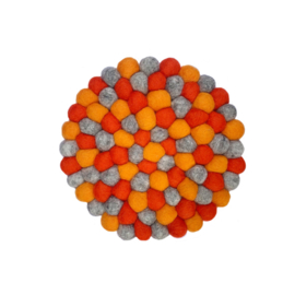 Onderzetter  oranje
