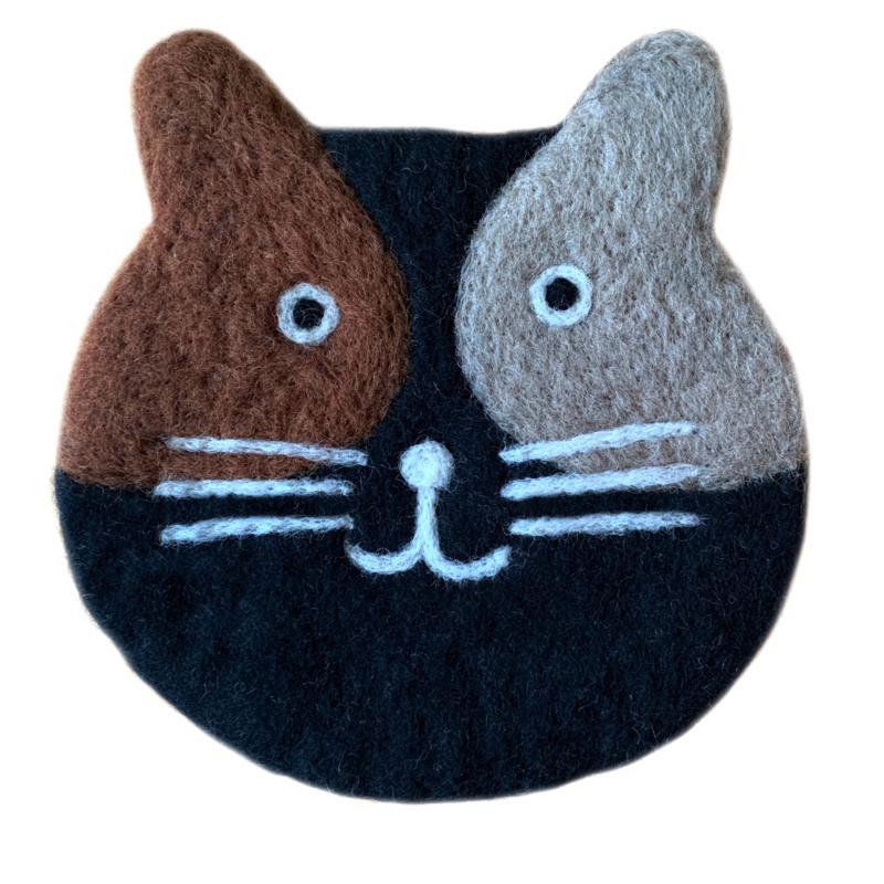Pan-0nderzetter  kat zwart