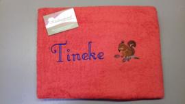 Handdoek met afbeelding en naam
