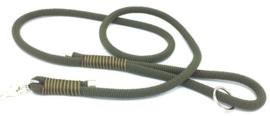 Hondenlijn touw (Olijfgroen)