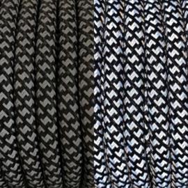 Sliphalsband  (Zwart reflecterend)