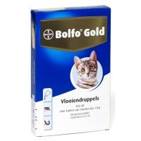 Bolfo gold vlooiendruppels kat tot 4 kilo