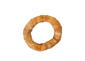 Donut wrapped kip maat S (7,5 cm)