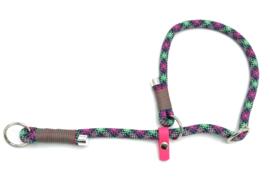 Sliphalsband  (groen, paars, roze, zwart)