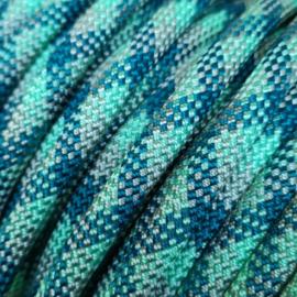 Halsband touw met biothane (Mint-Teal)