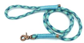 Hondenlijn touw (Mint-teal)