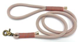 Hondenlijn touw (Oranje-Teal)