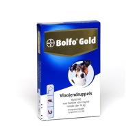 Bolfo gold vlooiendruppels hond 4-10 kilo