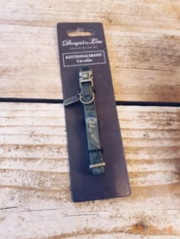 Velvet halsband groen