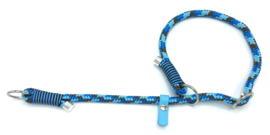 Sliphalsband  (blauw-turquoise-bruin)