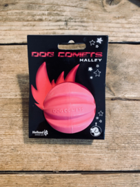 Dog comet star roze
