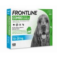 Vlooiendruppels Frontline Combo hond M (10-20 kg)