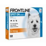 Vlooiendruppels Frontline Hond S (2-10 kg)