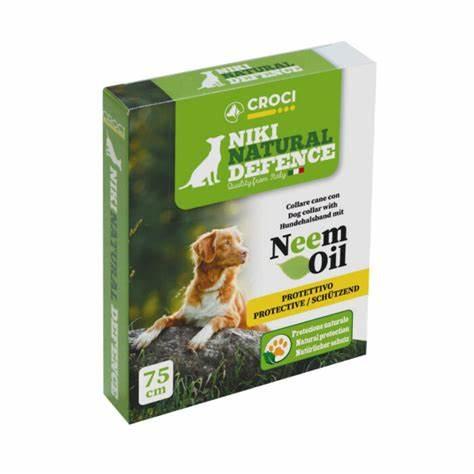 natuurlijke vlooienband hond