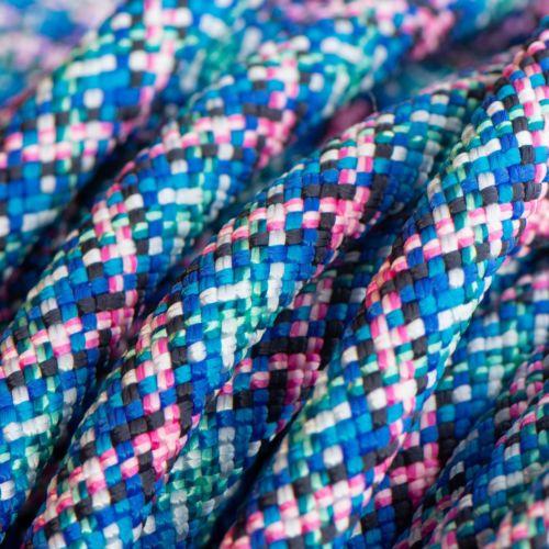 Sliphalsband  (Licht roze-Blauw-Mint-Zwart)