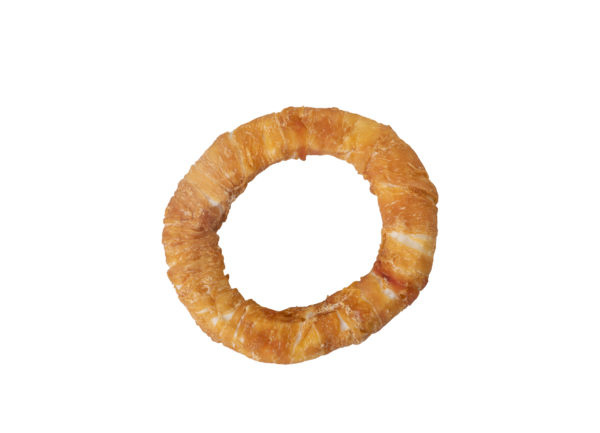 Donut wrapped kip maat M (12,5 cm)