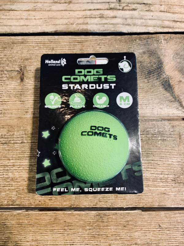 Dog comet groen