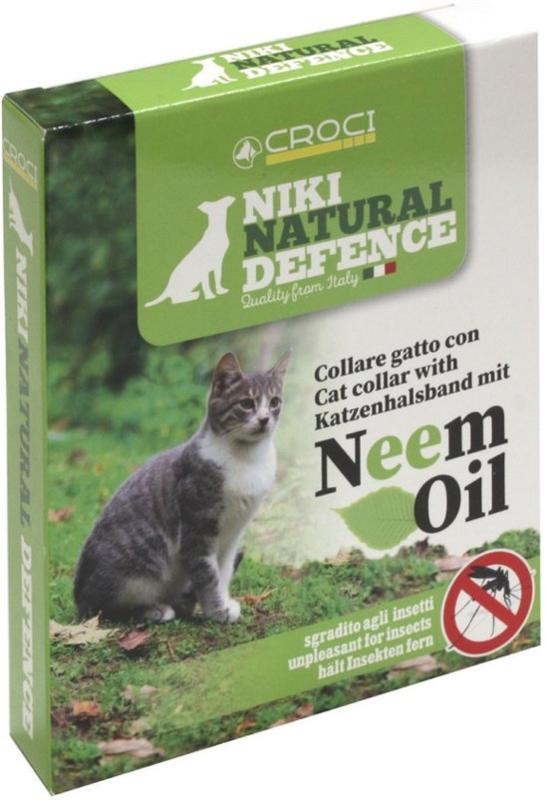 natuurlijke vlooienband kat