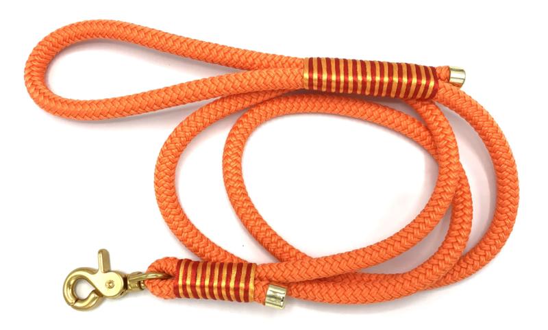 Hondenlijn touw (Oranje)