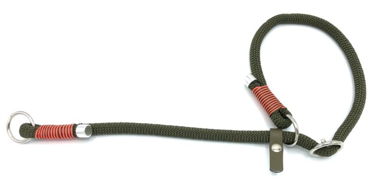 Sliphalsband  (Olijfgroen)