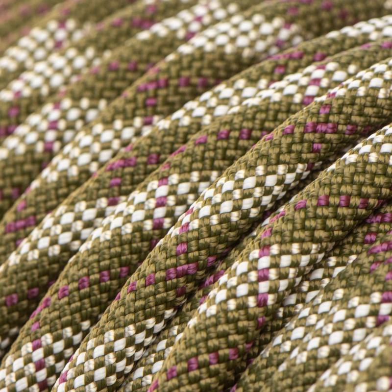 Sliphalsband  (Bruin-Licht grijs-Paars)