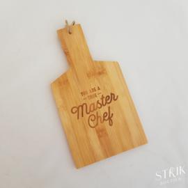 Broodplankje bamboe 'Masterchef'