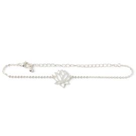 Armband 'Lotus' Birambi (goud / zilver)