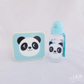 Drinkfles panda (met of zonder naam)
