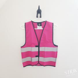 Veiligheidshesje roze