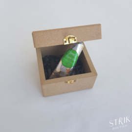 (Juwelen)doosje met handcrème 'Voor een crème van een meter'