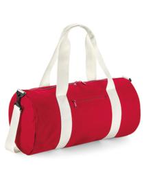 Sporttas XL rood met naam