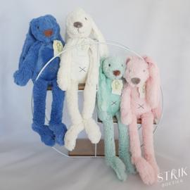 Knuffel konijn 'Richie Rabbit' ivoor met naam