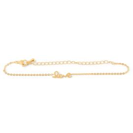 Armband 'Love' Birambi (goud / zilver)