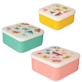 Snackboxen / snackdoosjes vlinders