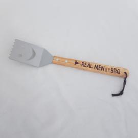 BBQ-spatel 'Real men smell like BBQ'
